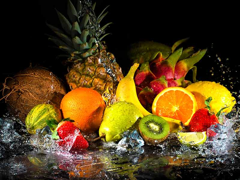 which fruits are rich source of water content