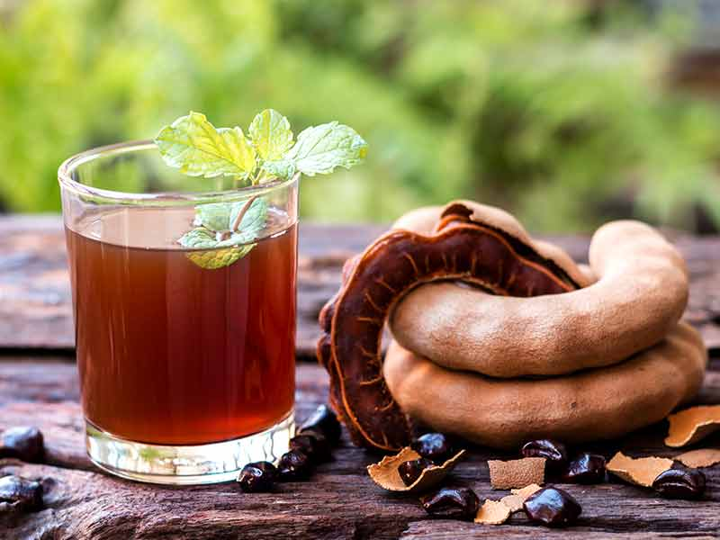 What are the various health benefits of drinking tamarind juice