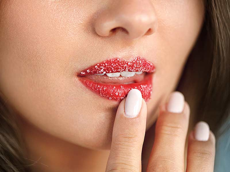how to make lip scrub at home for smooth lips