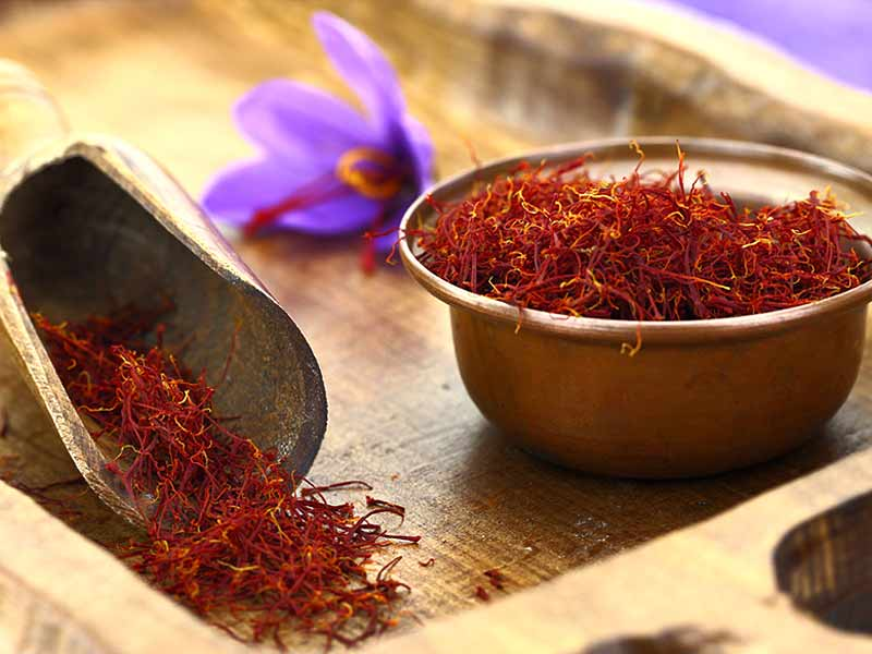 what are the side effects saffron