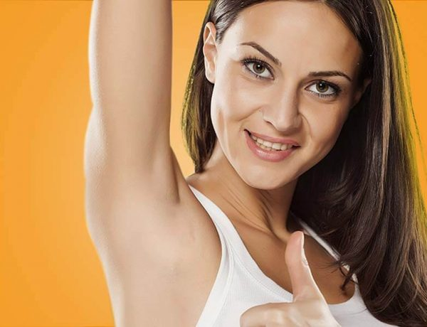 How to remove the underarms hair effectively at home