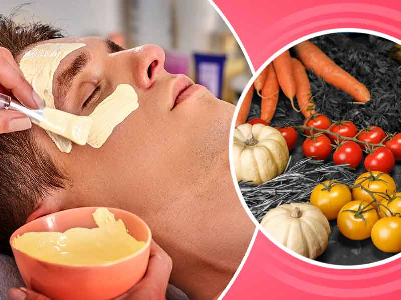 homemade vegetable face packs for glowing skin