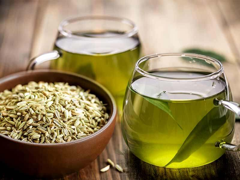What are the health benefits of fennel tea