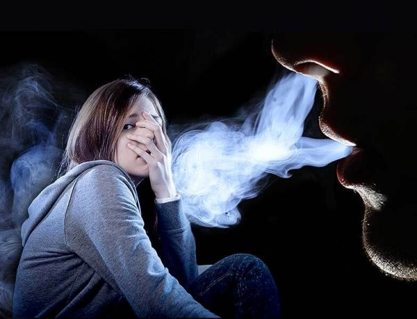 What are the effects of the second hand smoke or passive smoking