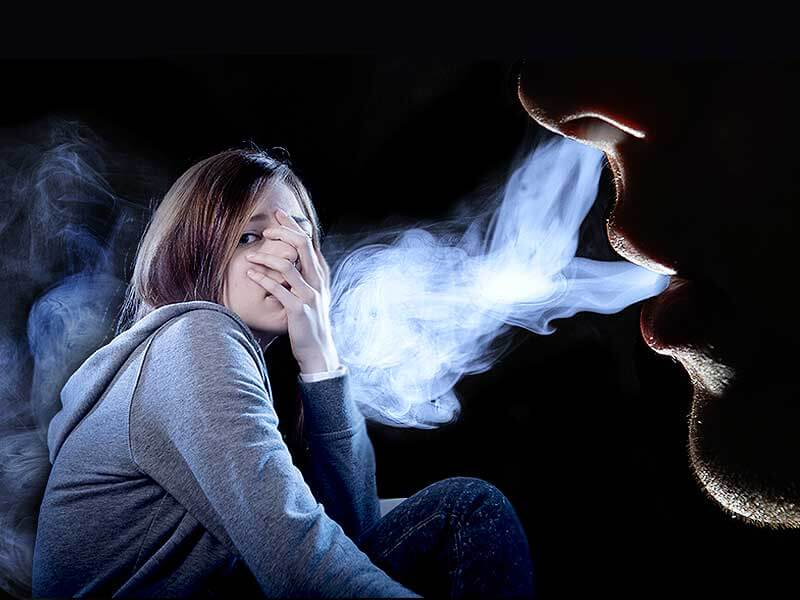 what are the effects of the second hand smoke or passive