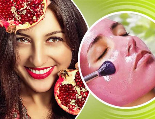 how face masks made of pomegranate are beneficial for skin