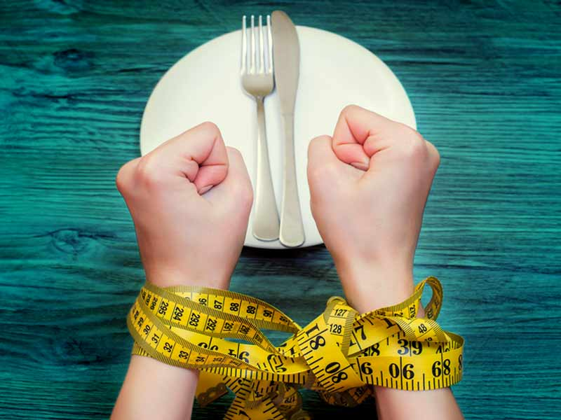How does starvation affect your body in the negative way