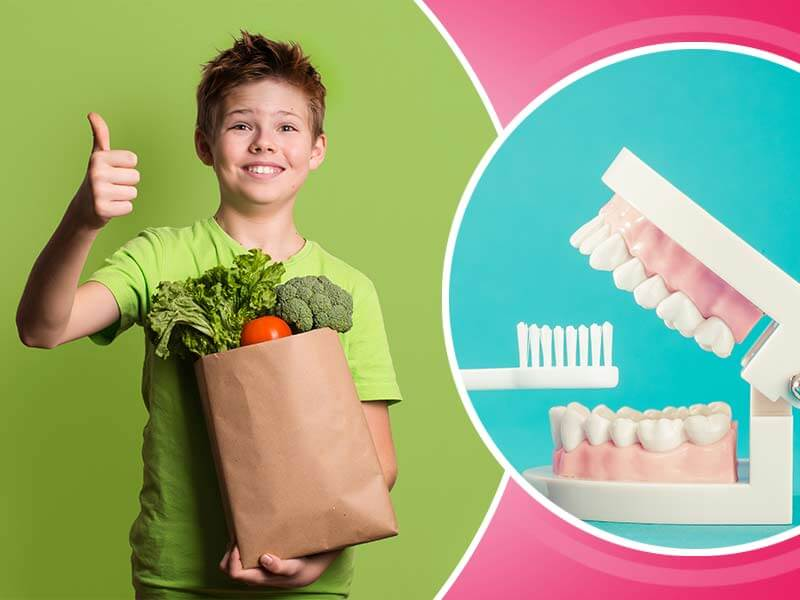 What all you need to know about the child's teeth and nutrition