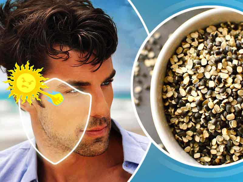 Urad daal for skin problems
