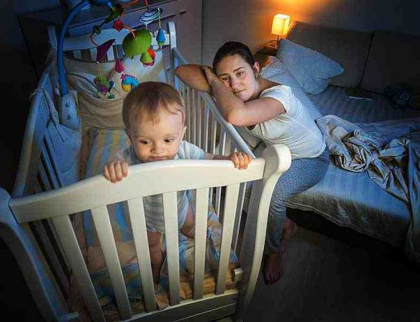 why baby is not sleeping at night