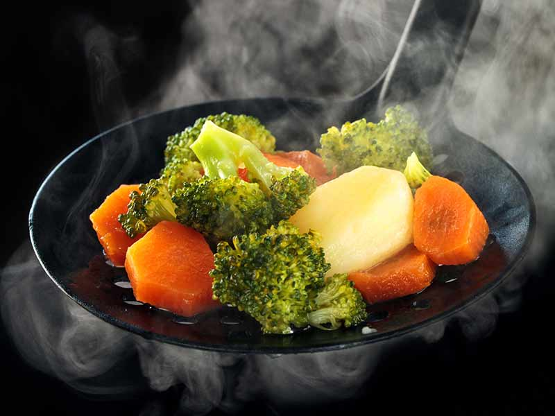 Consumption of boiled vegetables beneficial for health