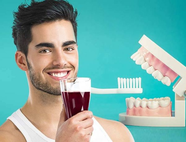 Dental care, drinks for healthy teeth