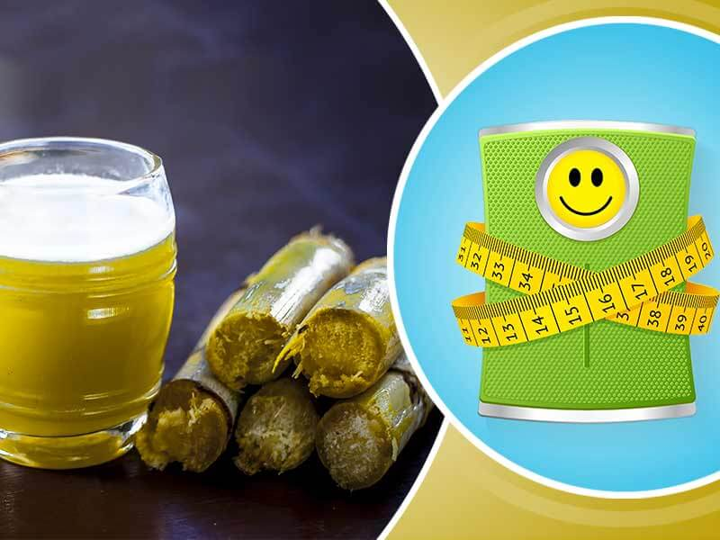 How to lose weight by drinking sugarcane juice