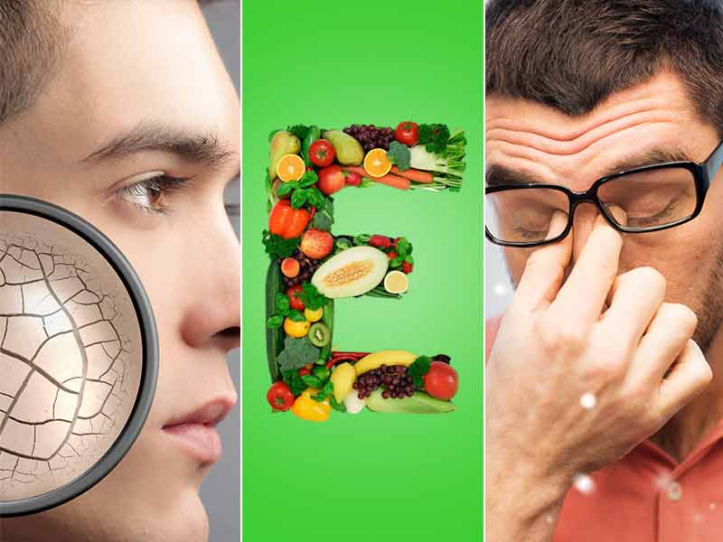 Vitamin E deficiency, signs of vitamin E deficiency