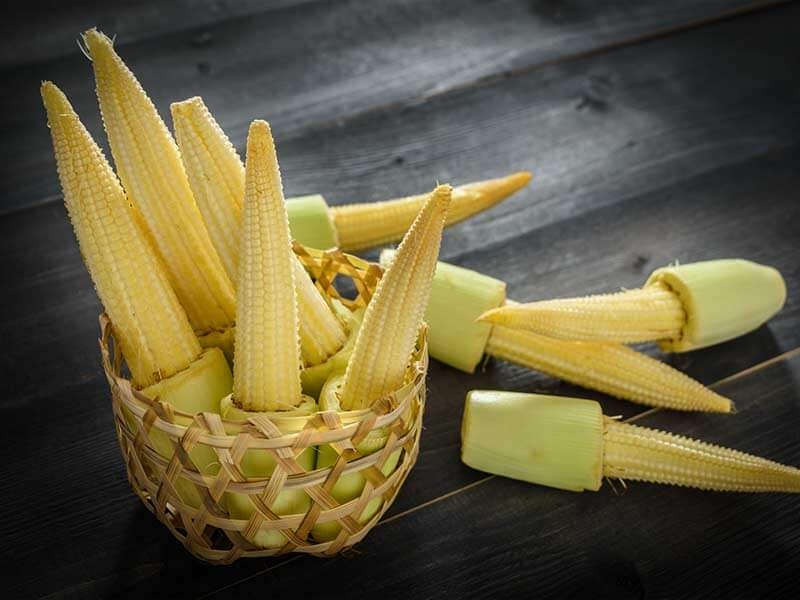 Baby corn is very beneficial for health