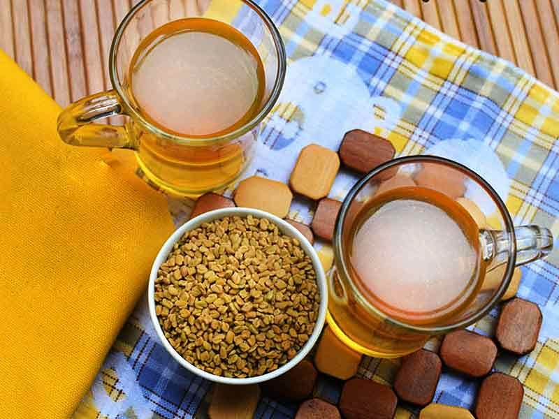 benefits of drinking fenugreek water