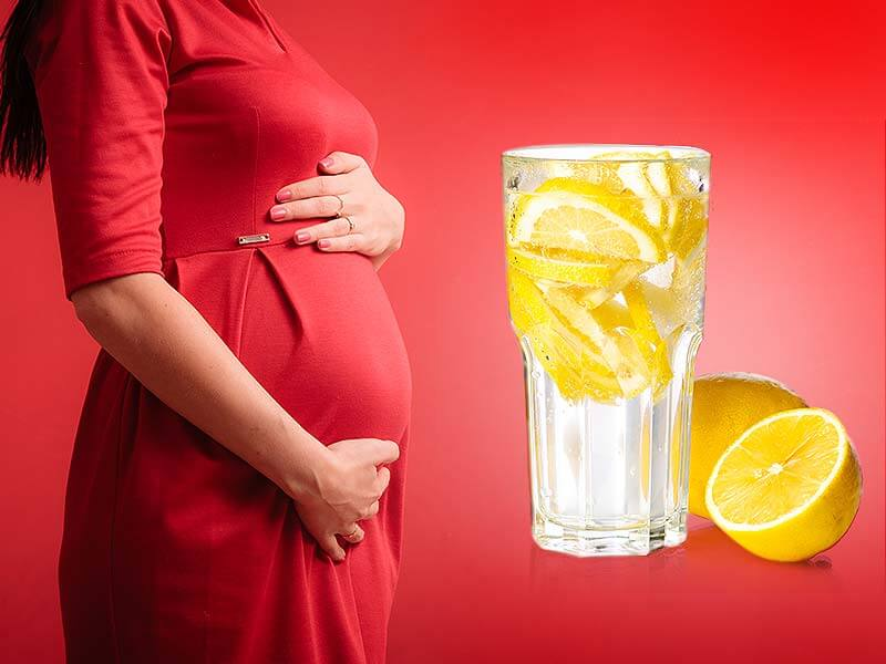 Drinking Lemonade during pregnancy is beneficial