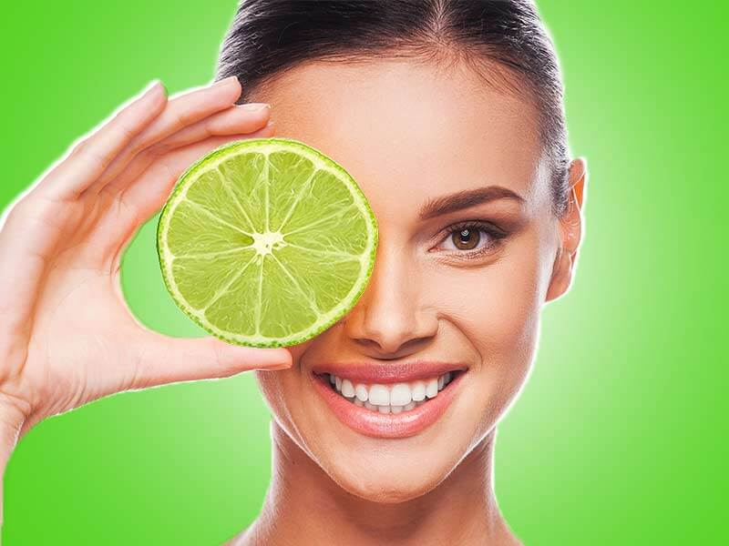 beauty benefits of sweet lime