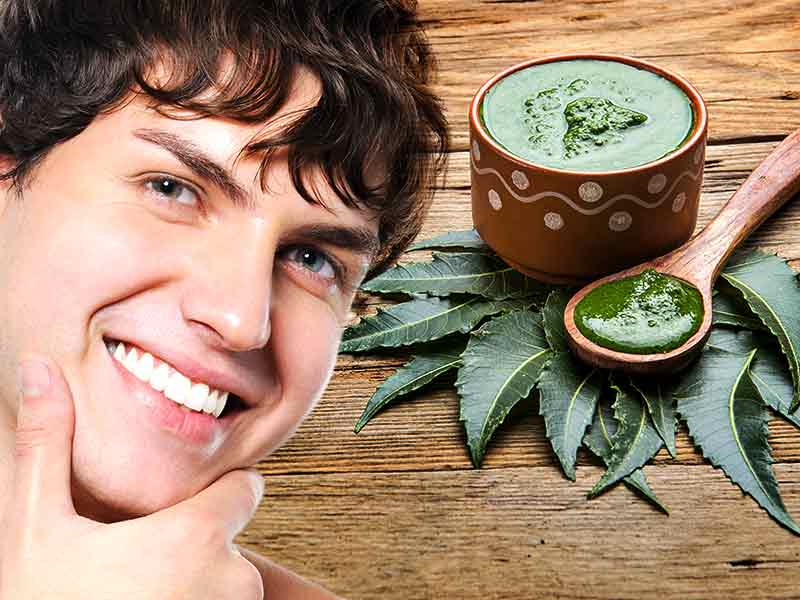 Neem paste for beauty