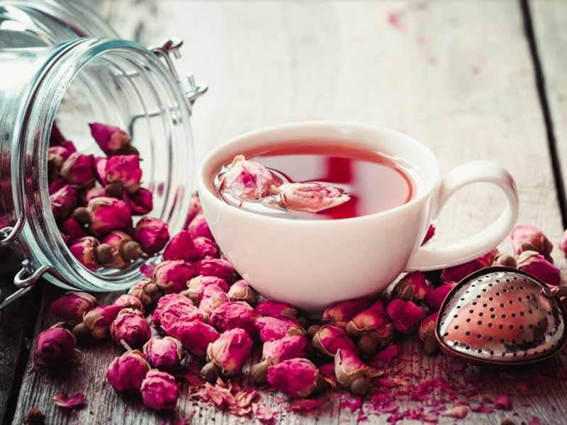 Benefits Of Rose Tea, Rose Tea