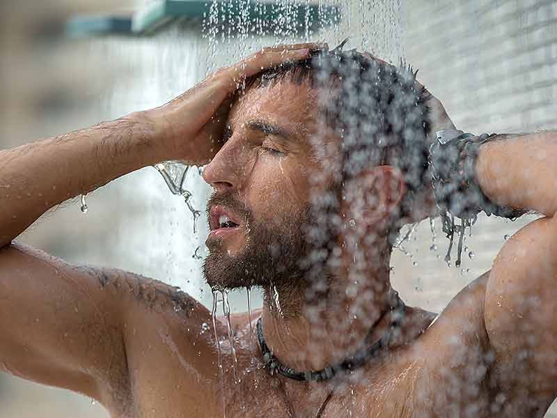 How taking shower is great for the body
