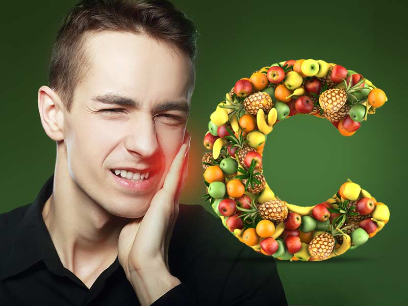 Vitamin C deficiency can cause a lot of health issue