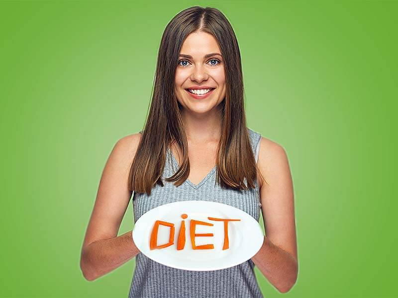 Lose weight with gluten free diet