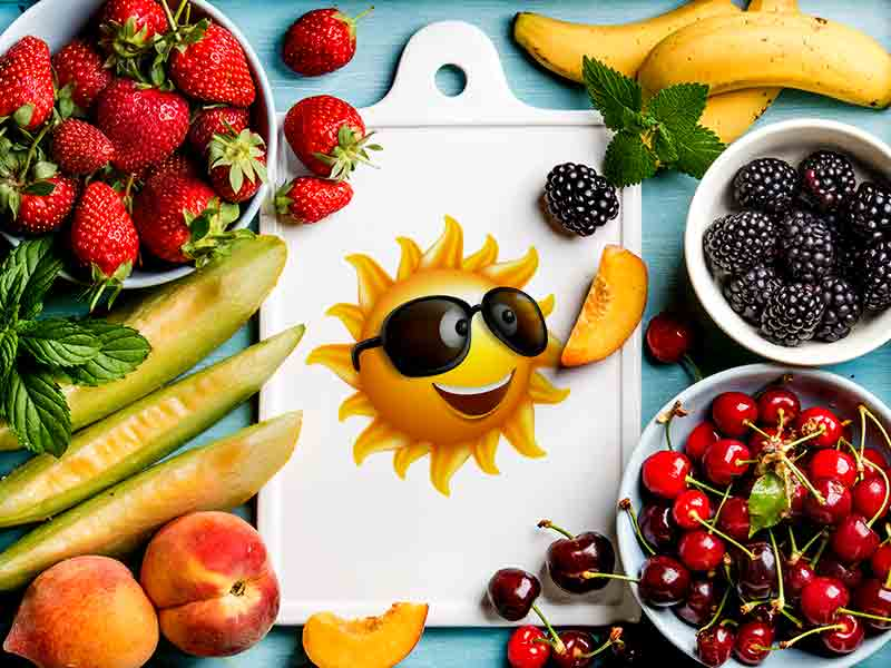 Make summer diet more nutritious