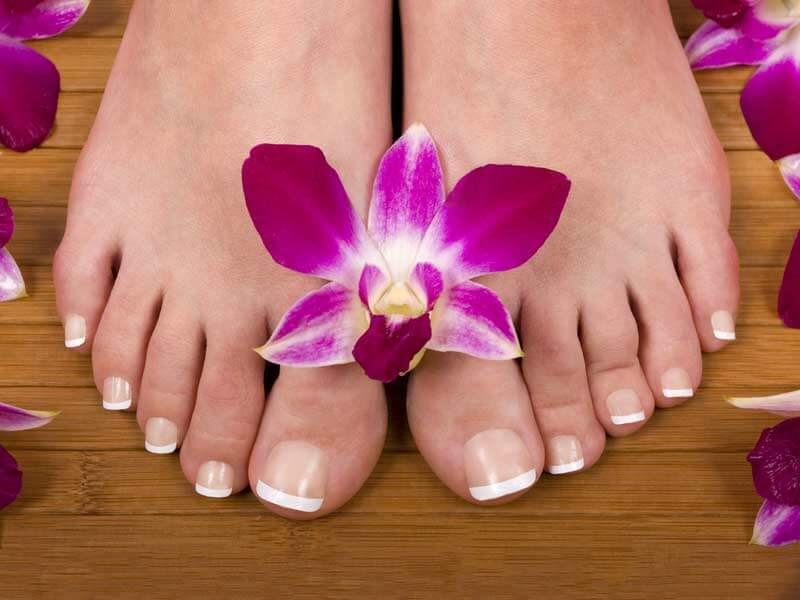 Pedicure for health feet