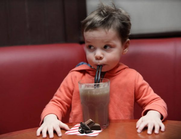 Chocolate milkshake for the milk: Should you let your child have a chocolate milkshake