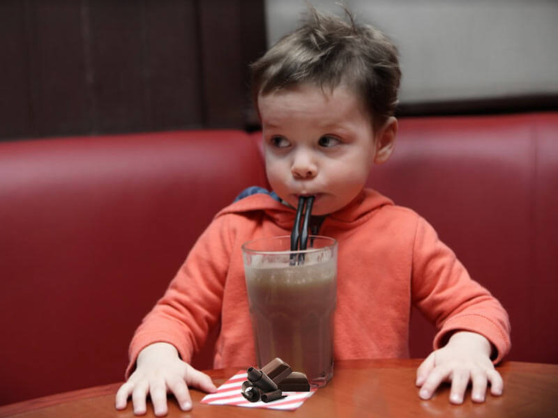 "THUGS: ""journalist"" Owen Jones attacked by ""far right"" Chocolate-shake-for-baby-1"