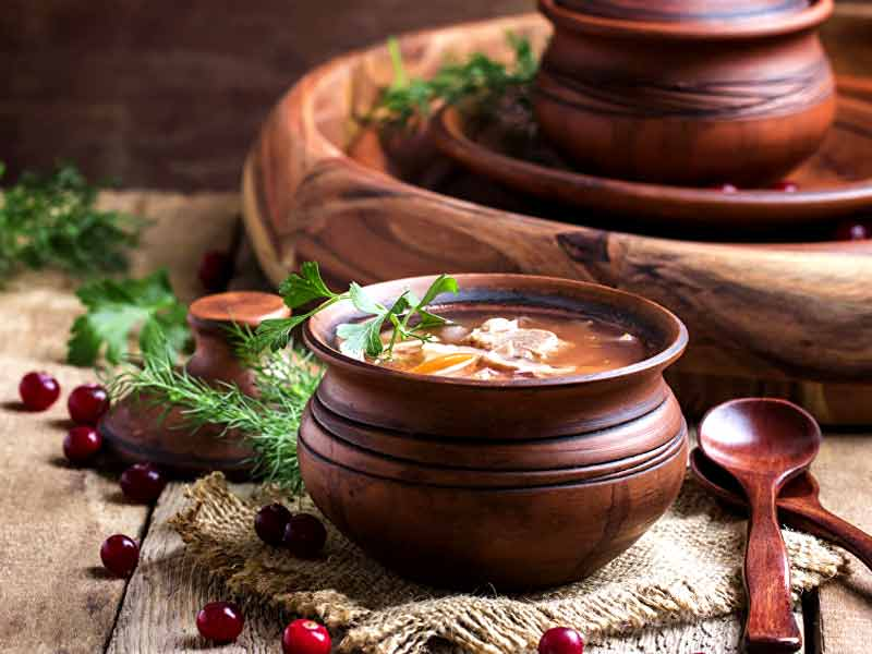 benefits of cooking food in clay pot