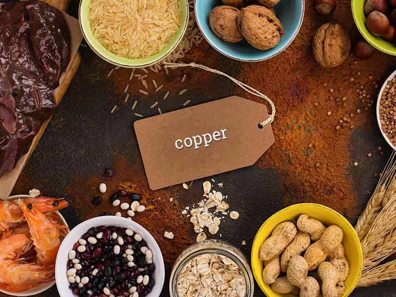 Copper Rich foods for health