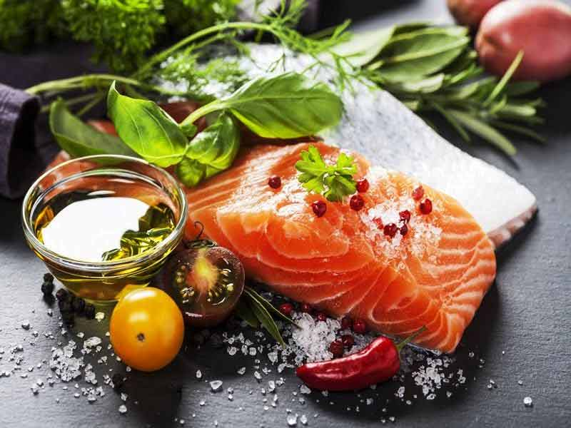 Salmon for muscles recovery