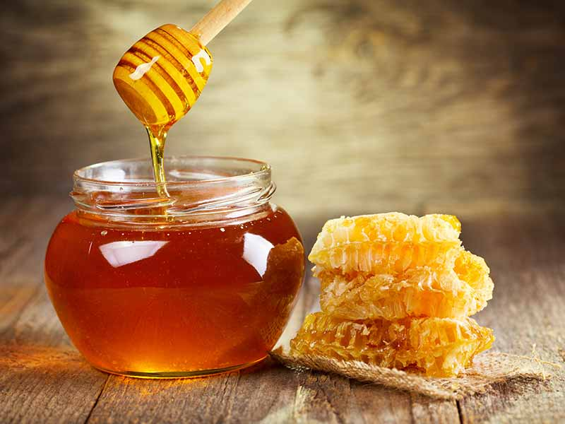 Thyroid problem can be reduced with honey and nuts