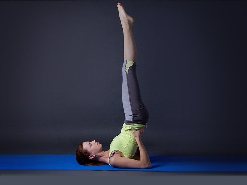 How to Viparita Karani pose and what are its benefits
