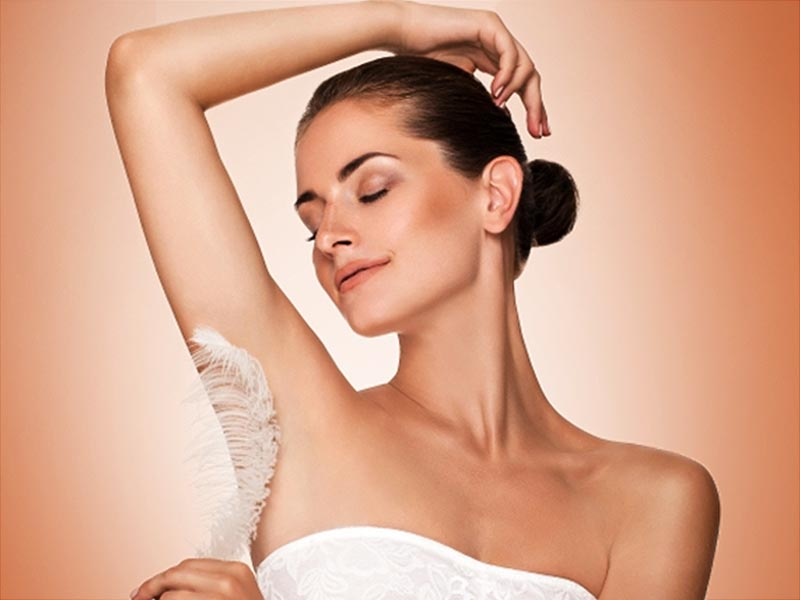 How to remove underarm hair using turmeric