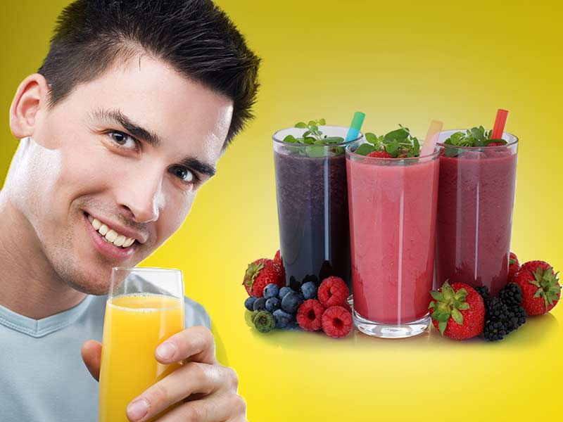 Get flawless skin by consuming some juices.