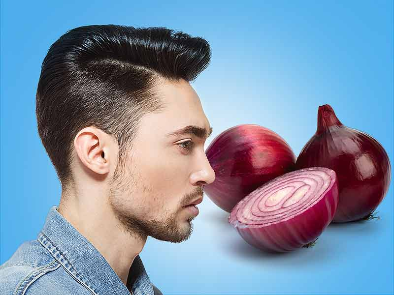 Get stronger hair with onion juice
