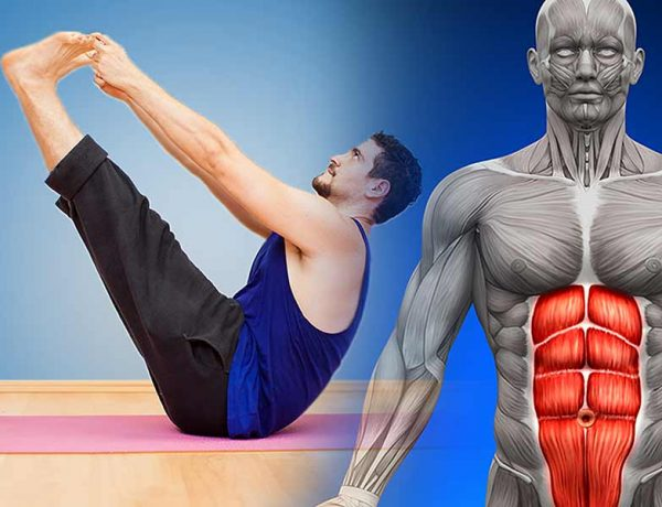 Get ripped abs with yoga