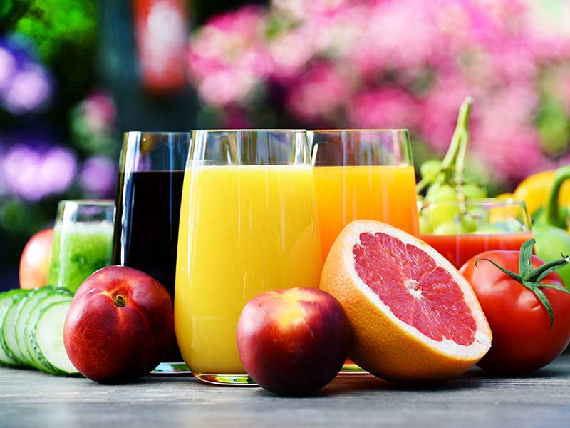 Brain health can be improved with some juices