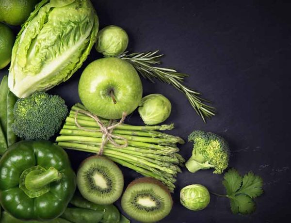 Benefits of eating green fruits and vegetables daily