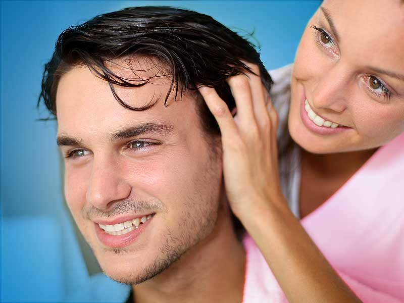 weak hair roots treatment