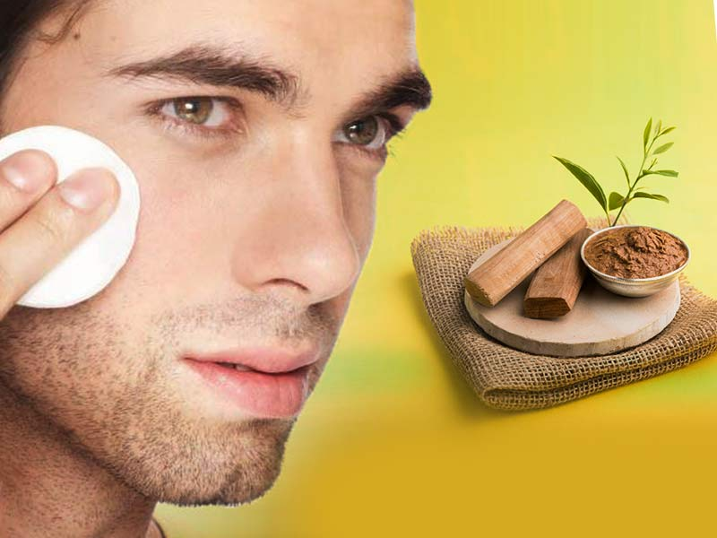 sandalwood face mask to get rid of an oily skin