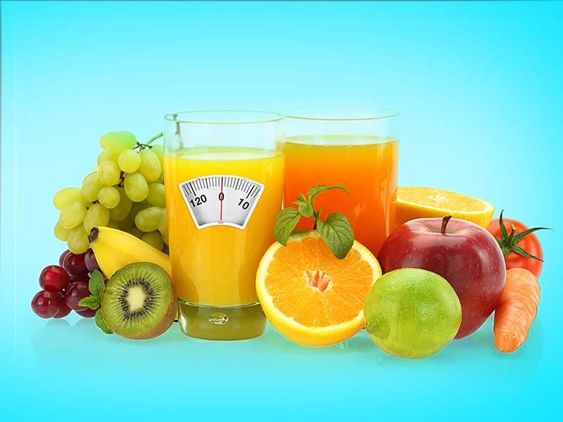 Weight can be reduce by consuming fruit