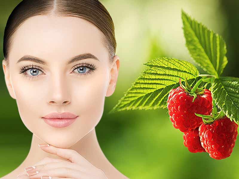 Reduce skin related problem with raspberry face mask
