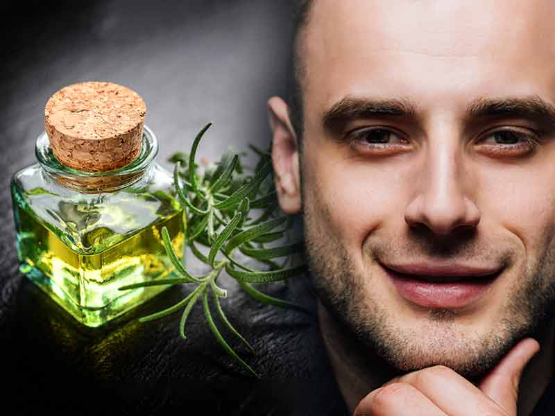 Treat pimples under the skin with essential oil