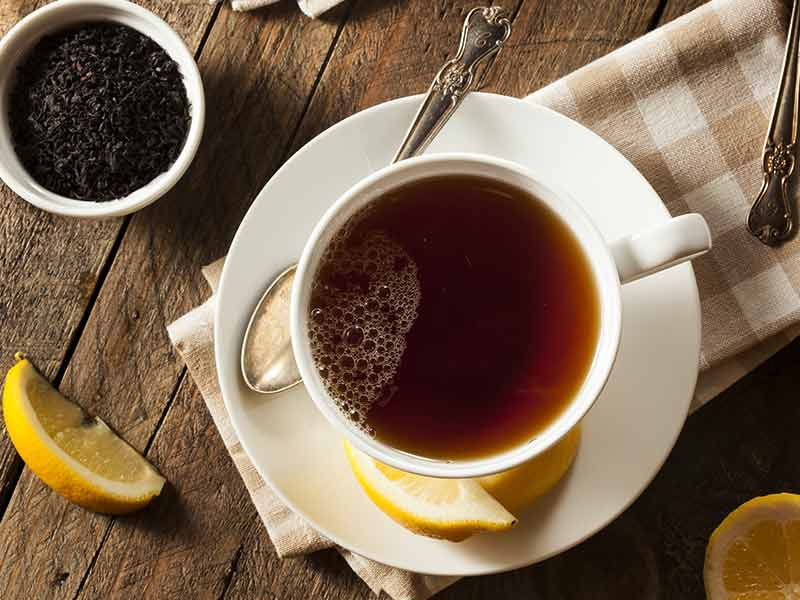 Burn fat with the help of black tea