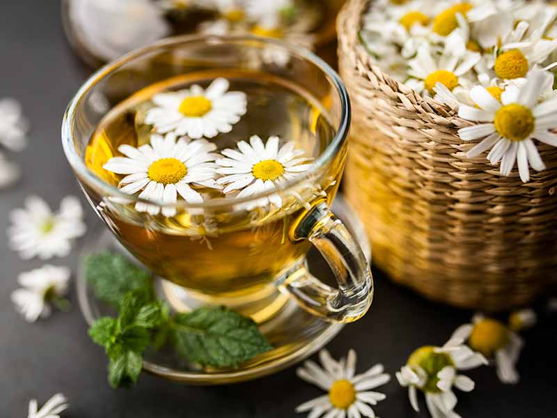 Which are the best herbal tea to get rid of diarrhoea
