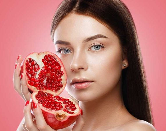 How To Make Pomegranate Toner For Soft